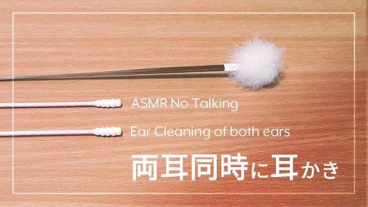 ASMR耳搔 両耳同時耳搔 耳朵清洁系列#3 不说话纯耳骚
