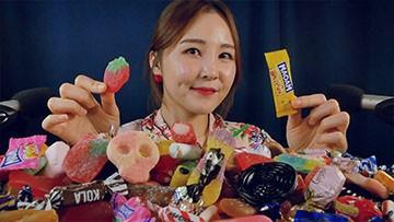 돌아온 스웨디시 젤리 ASMR|Swedish Candy Eating sounds